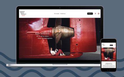 Nye nettsider: Hurtigrutemuseets digitale ansikt